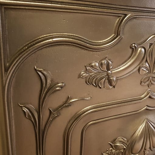 BED210 - Antique Cast Iron Bedroom Fireplace