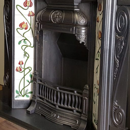 COMBI351 - Late 19th Century Original Fireplace