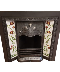 INS354 - Square Antique Fireplace Insert