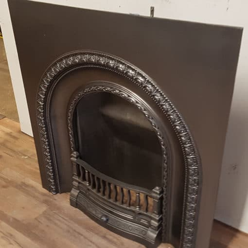 INS355 - Arched Original Fireplace Insert - Side