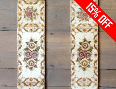 Original Fireplace Tiles Sale - 15% OFF