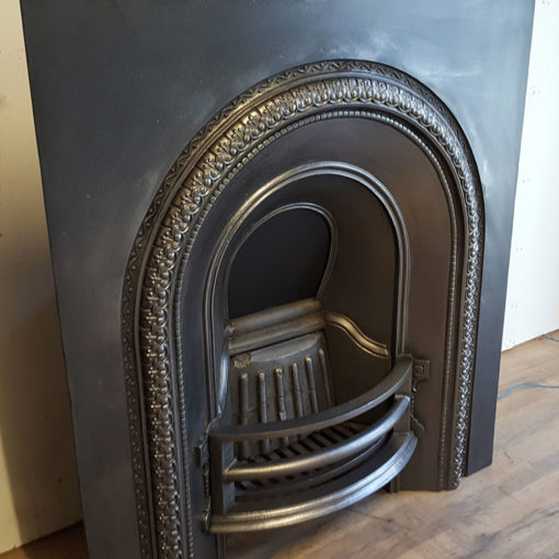 INS356 - Original Arched Cast Iron Insert Side