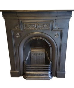 COMBI353 - Antique Cast Iron Combination Fireplace