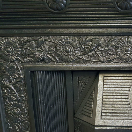 COMBI352 - Original Cast Iron Combination Fireplace - Detail