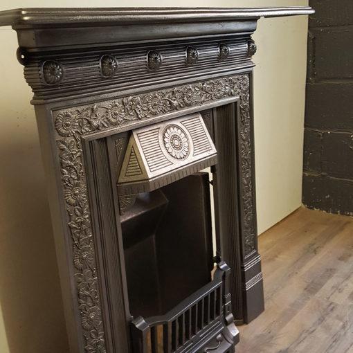 COMBI352 - Original Cast Iron Combination Fireplace - Side