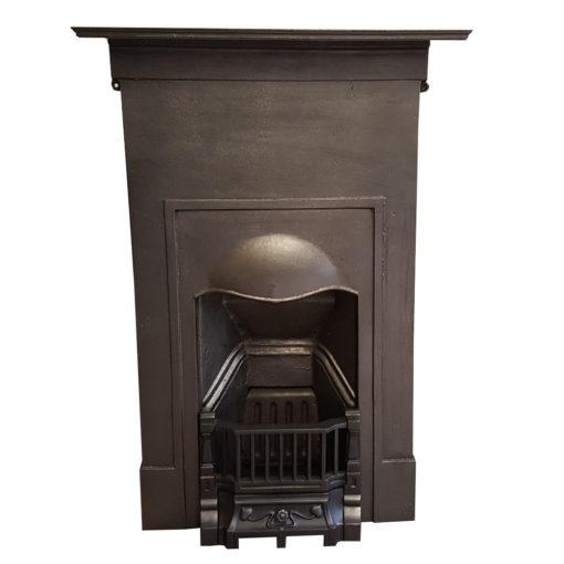 COMBI357 - Plain Cast Iron Combination Fireplace