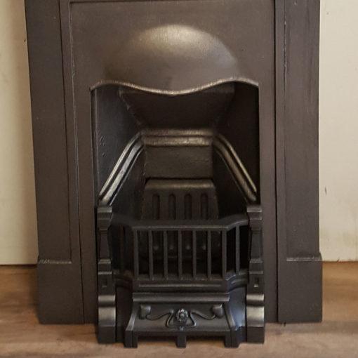 COMBI357 - Plain Cast Iron Combination Fireplace Bottom