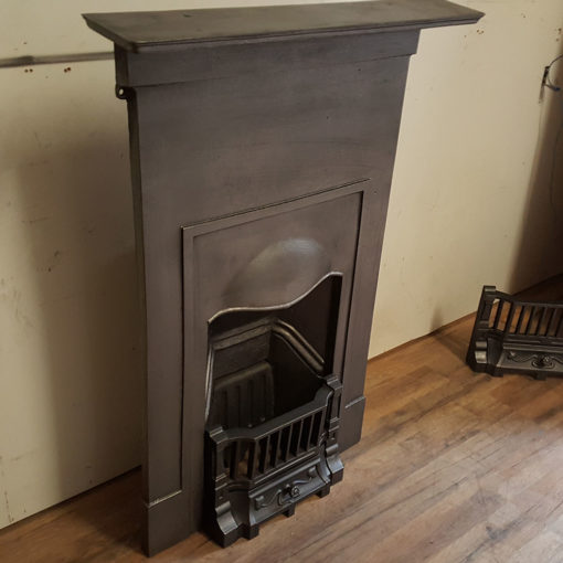 COMBI357 - Plain Cast Iron Combination Fireplace Side