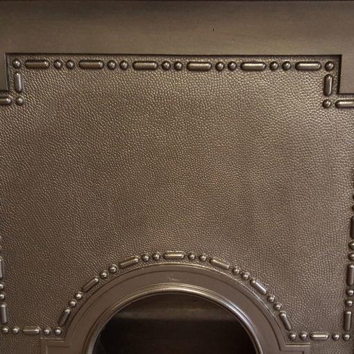 COMBI356 - Simple Cast Iron Combination Fireplace Detail