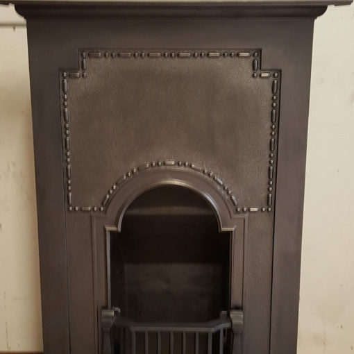 COMBI356 - Simple Cast Iron Combination Fireplace Front