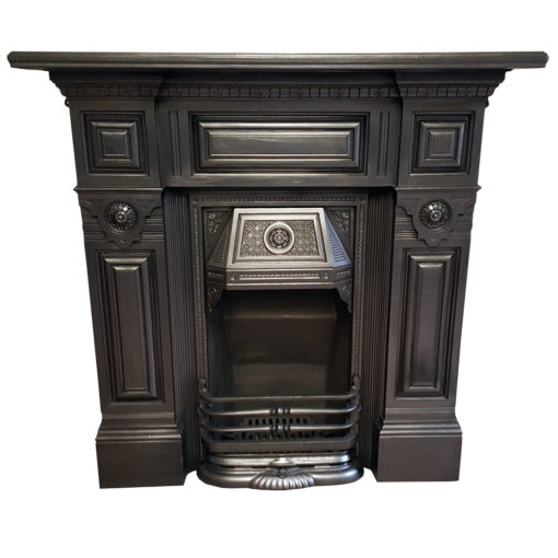 COMBI358 - Stunning Cast Iron Combination Fireplace