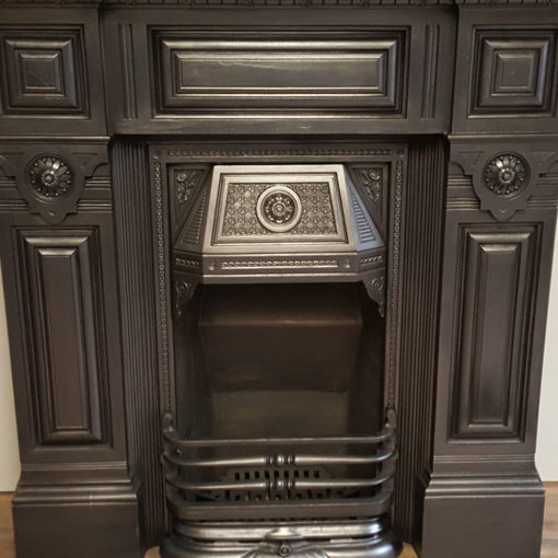 COMBI358 - Stunning Cast Iron Combination Fireplace Front