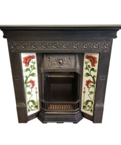 COMBI354 - Tiled Cast Iron Combination Fireplace