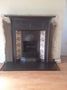 Tiled Combi Fireplace
