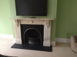 Marble Surround & Arched Insert