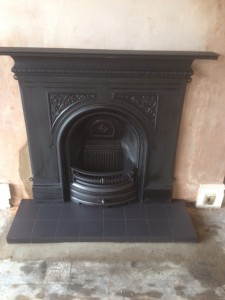 Arched Insert Fireplace