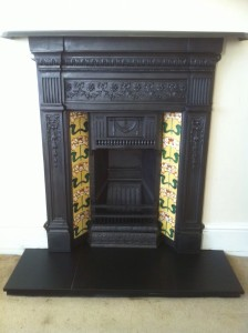Tiled Combination Fireplace